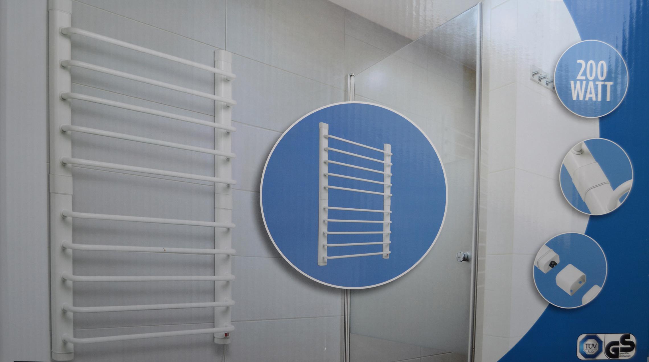 handtuch heizk rper elektrisch handtuchw rmer w schew rmer. Black Bedroom Furniture Sets. Home Design Ideas